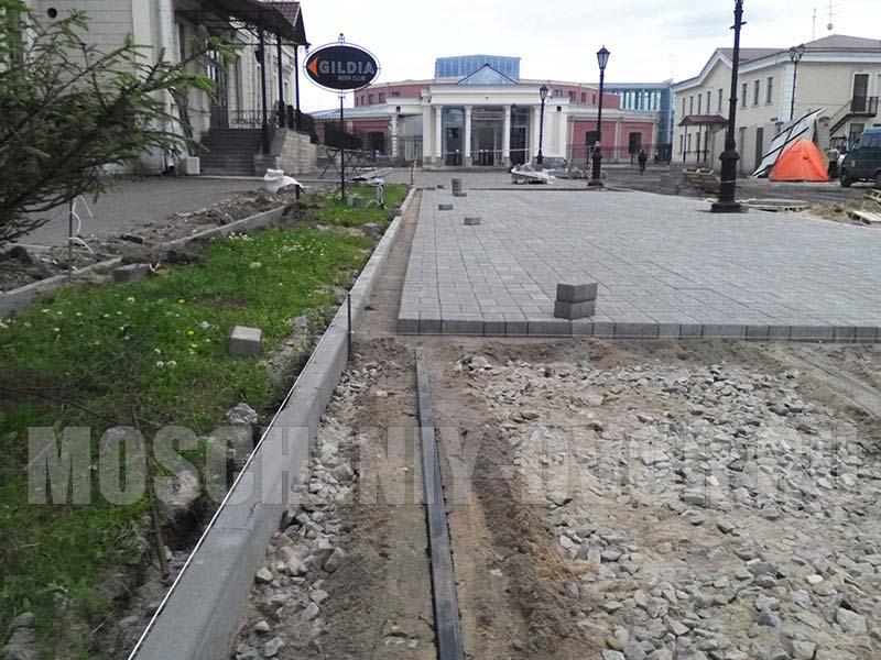 Балтийский вокзал тротуарное полотно