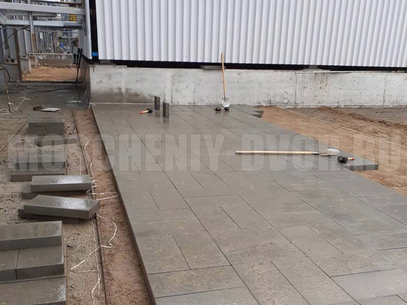 тротуарное полотно